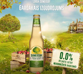 Somersby interneta baneris