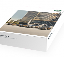 Land Rover champagne box