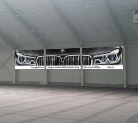 BMW large banner